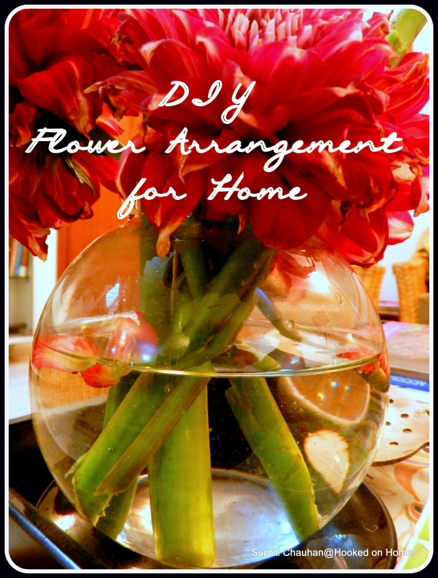 DIY Flower Arrangement for Home @ Hooked on Homes (1)