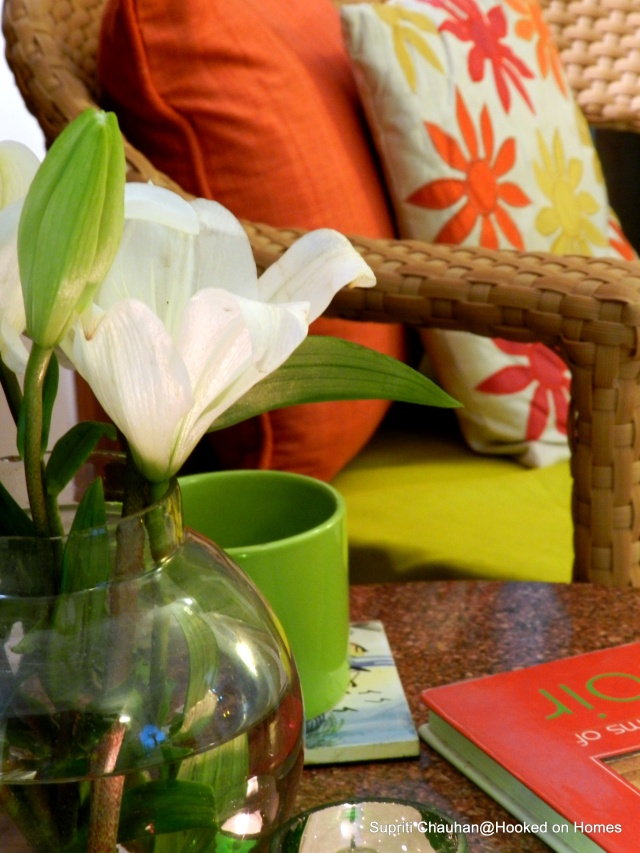 Spring Inspired Decor @Hooked on Homes
